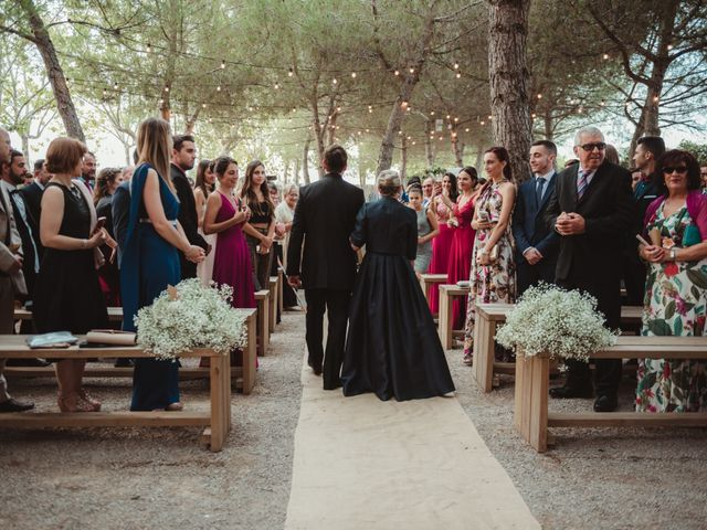 La boda de Jaime y Lorena en Sant Cugat Sesgarrigues, Barcelona 47