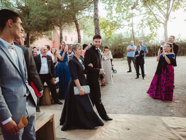La boda de Jaime y Lorena en Sant Cugat Sesgarrigues, Barcelona 48