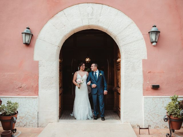 La boda de Jaime y Lorena en Sant Cugat Sesgarrigues, Barcelona 51