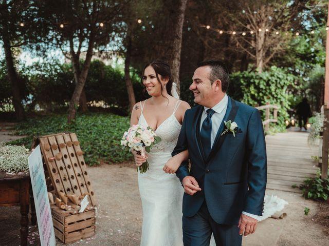 La boda de Jaime y Lorena en Sant Cugat Sesgarrigues, Barcelona 54