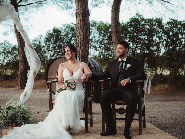 La boda de Jaime y Lorena en Sant Cugat Sesgarrigues, Barcelona 61