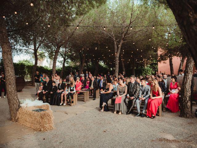 La boda de Jaime y Lorena en Sant Cugat Sesgarrigues, Barcelona 64