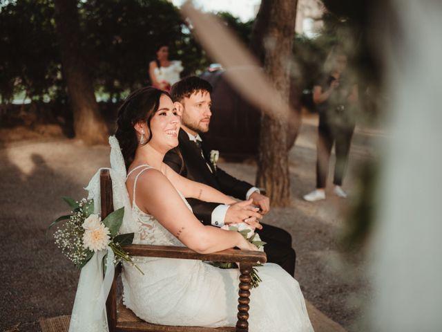 La boda de Jaime y Lorena en Sant Cugat Sesgarrigues, Barcelona 65