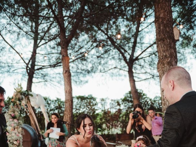 La boda de Jaime y Lorena en Sant Cugat Sesgarrigues, Barcelona 72
