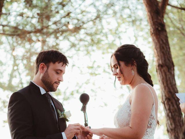 La boda de Jaime y Lorena en Sant Cugat Sesgarrigues, Barcelona 73