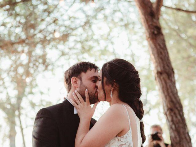 La boda de Jaime y Lorena en Sant Cugat Sesgarrigues, Barcelona 74