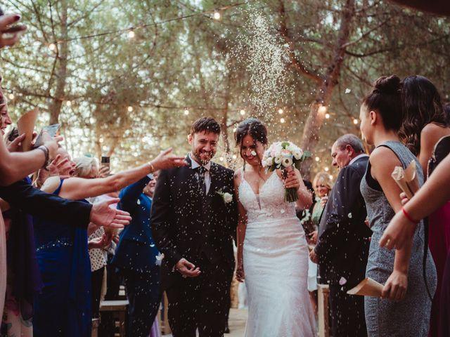 La boda de Jaime y Lorena en Sant Cugat Sesgarrigues, Barcelona 78