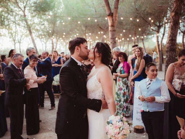 La boda de Jaime y Lorena en Sant Cugat Sesgarrigues, Barcelona 79