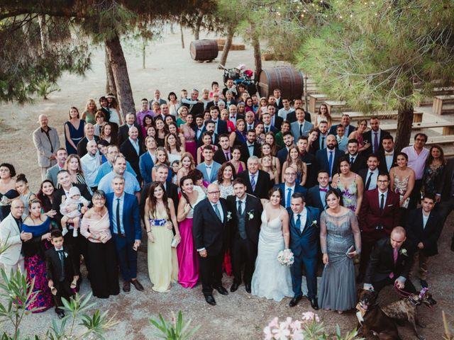 La boda de Jaime y Lorena en Sant Cugat Sesgarrigues, Barcelona 80