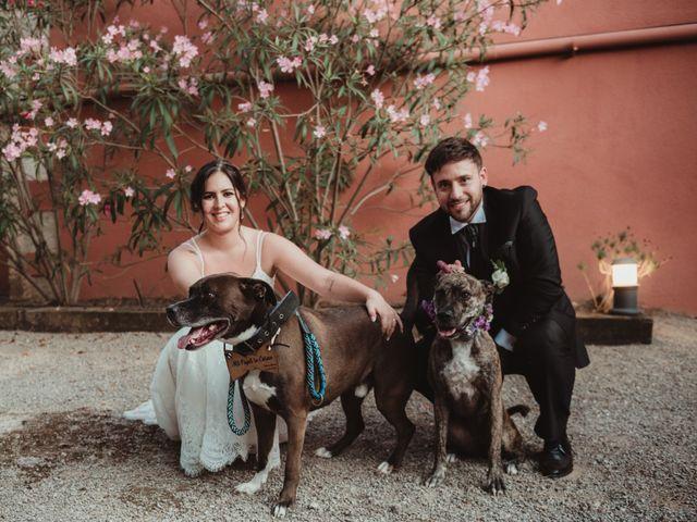La boda de Jaime y Lorena en Sant Cugat Sesgarrigues, Barcelona 82