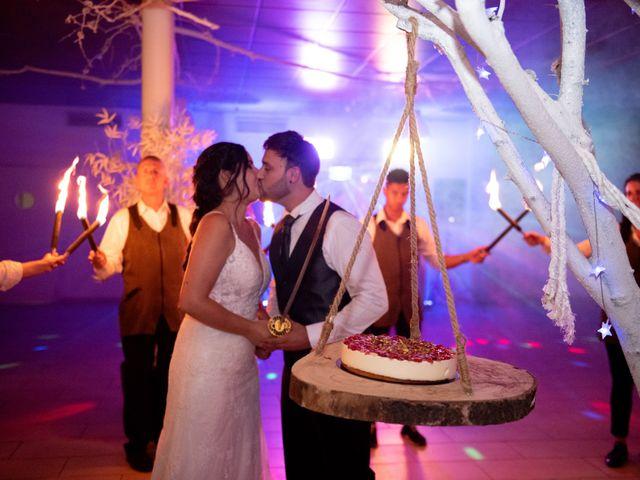 La boda de Jaime y Lorena en Sant Cugat Sesgarrigues, Barcelona 109