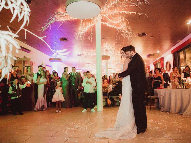 La boda de Jaime y Lorena en Sant Cugat Sesgarrigues, Barcelona 126