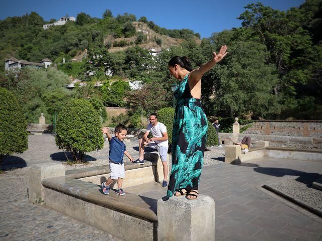 La boda de Alberto y Fuensanta en La Zubia, Granada 1