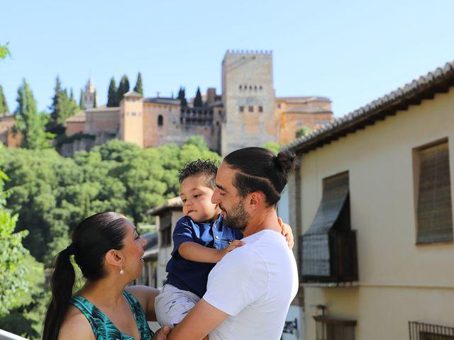 La boda de Alberto y Fuensanta en La Zubia, Granada 2