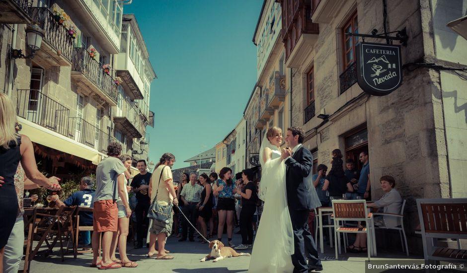La boda de Javi y Alba en Lugo, Lugo