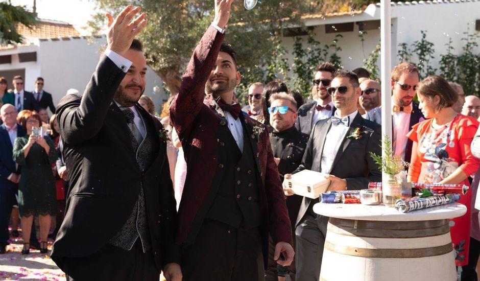 La boda de Daniel y Fco Javier en Cartagena Naval, Murcia