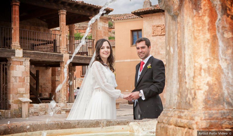 La boda de Daniel y Sara en Ayllon, Segovia