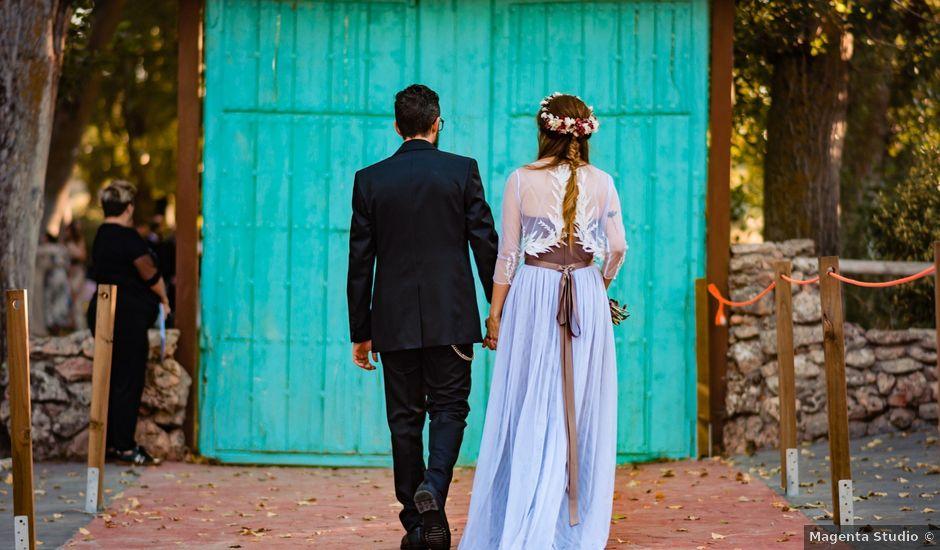 La boda de Gus y María en Saelices, Cuenca