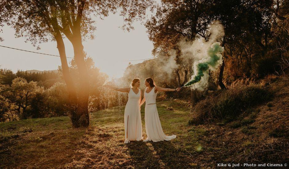 La boda de Mireia y Marta en Sant Hilari Sacalm, Girona