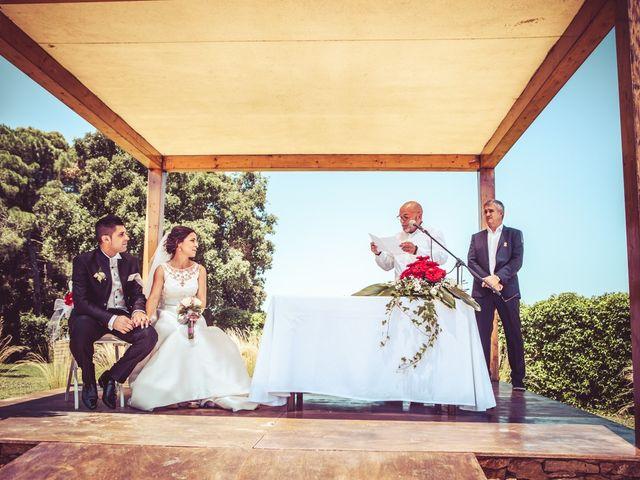 La boda de Marc y Noemi en Llofriu, Girona 8