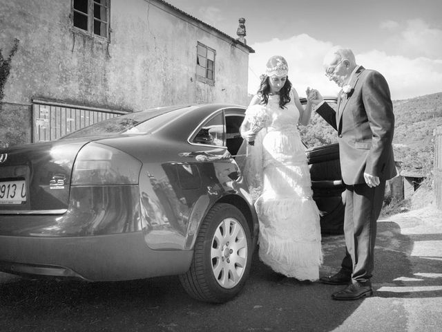La boda de Santi y Ericka en Ourense, Orense 4