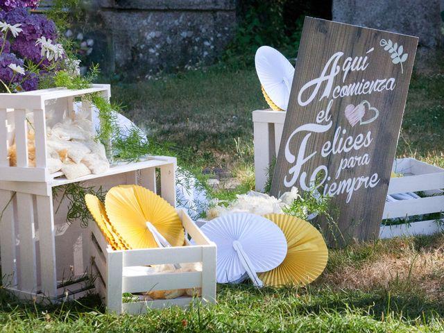 La boda de Santi y Ericka en Ourense, Orense 5