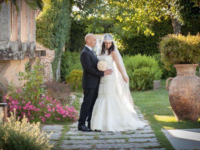 La boda de Santi y Ericka en Ourense, Orense 11