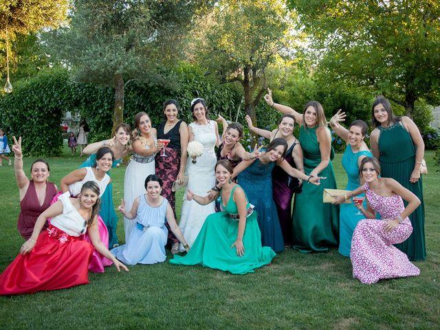 La boda de Santi y Ericka en Ourense, Orense 17