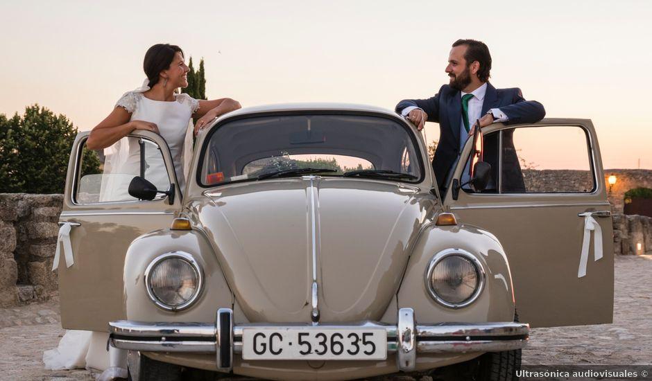 La boda de Antonio y Belén en Trujillo, Cáceres