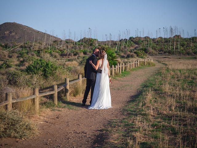 La boda de Antonio y Carmen en San Jose, Almería 13