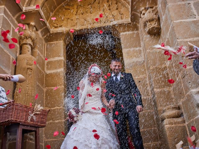 La boda de Andrés y Julia en Luna, Zaragoza 29