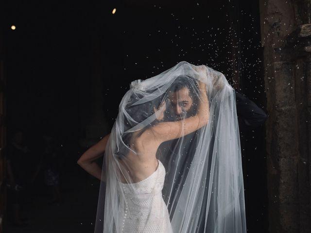 La boda de Alejandro y Rebeca en Monesterio, Badajoz 1