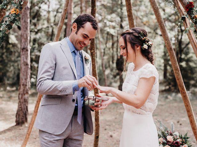 La boda de David y Alba en Muntanyola, Barcelona 1
