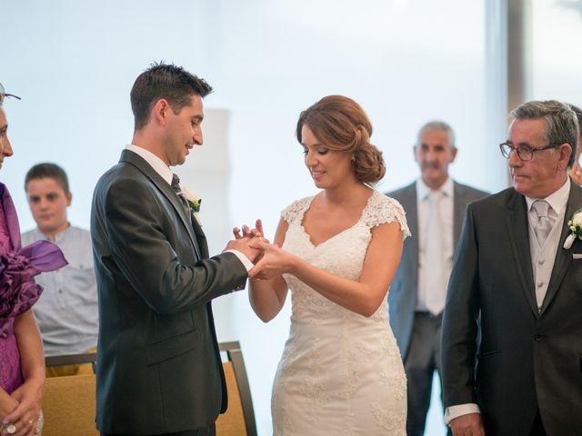 La boda de Jaime y Cristina en Pedrajas De San Esteban, Valladolid 14