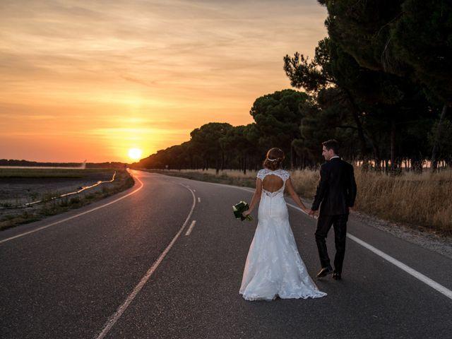 La boda de Jaime y Cristina en Pedrajas De San Esteban, Valladolid 22