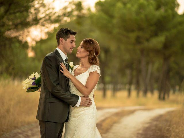 La boda de Jaime y Cristina en Pedrajas De San Esteban, Valladolid 26