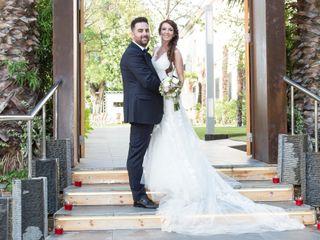 La boda de Lydia y Rubén