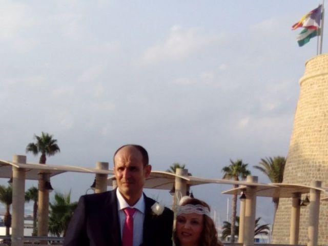 La boda de Miguel Ángel  y Maite  en Roquetas De Mar, Almería 1