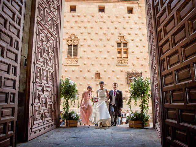 La boda de Carlos y Ana en Salamanca, Salamanca 25