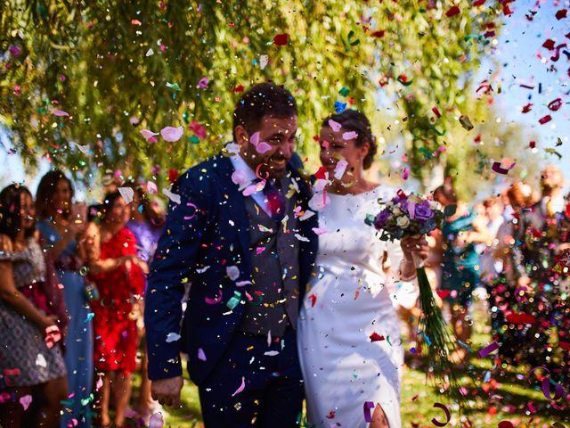 La boda de Víctor y Andrea en Alcala De Ebro, Zaragoza 1