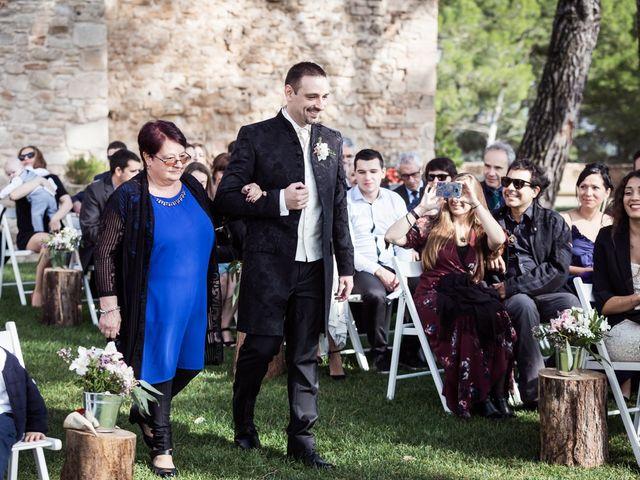 La boda de Guille y Marta en Sant Marti De Tous, Barcelona 41