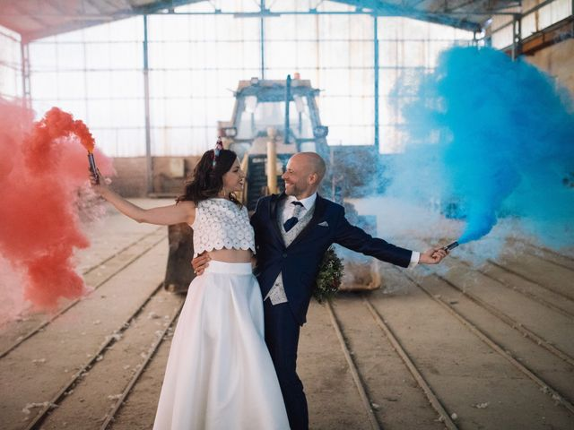 La boda de Fer y Laura en Otero De Herreros, Segovia 98