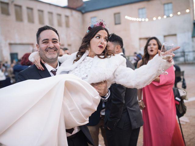 La boda de Fer y Laura en Otero De Herreros, Segovia 113