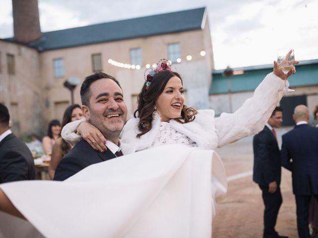 La boda de Fer y Laura en Otero De Herreros, Segovia 114