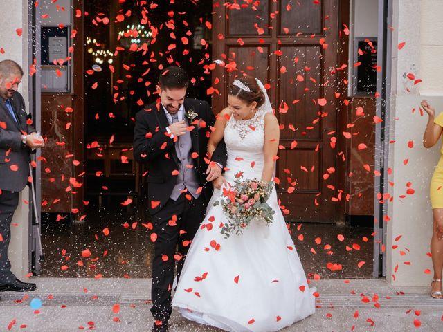 La boda de Esther y Miguel en Albalat Dels Tarongers, Valencia 13