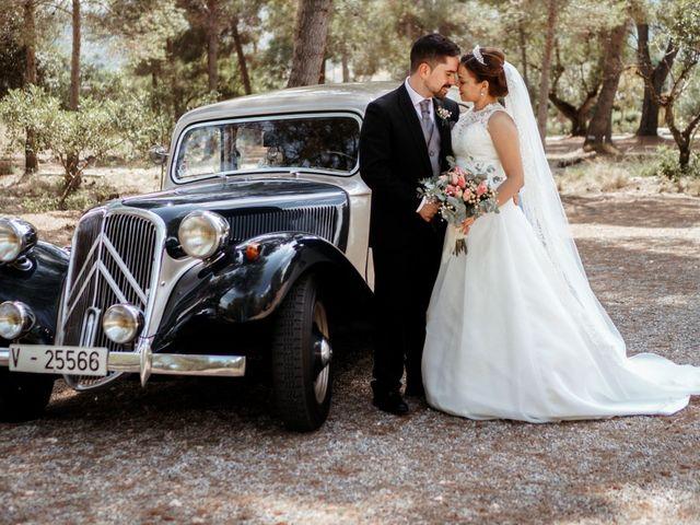 La boda de Esther y Miguel en Albalat Dels Tarongers, Valencia 22