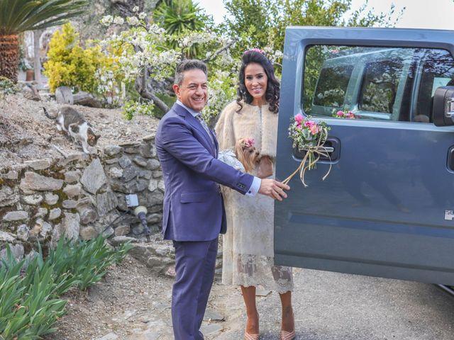 La boda de Antonio y Liamare en Monachil, Granada 1