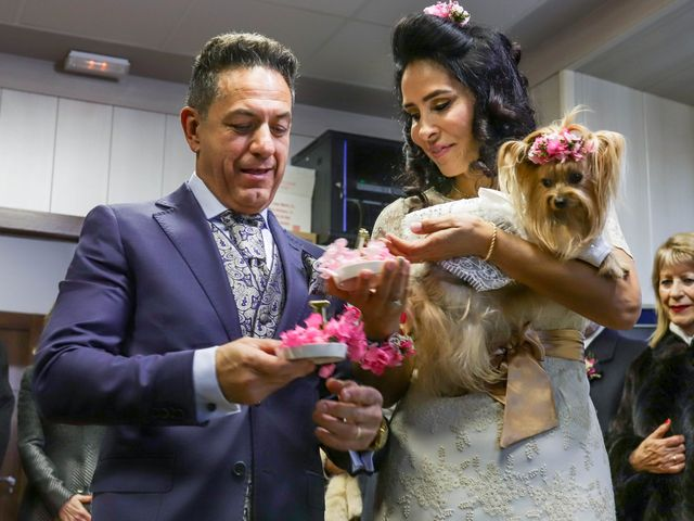 La boda de Antonio y Liamare en Monachil, Granada 32