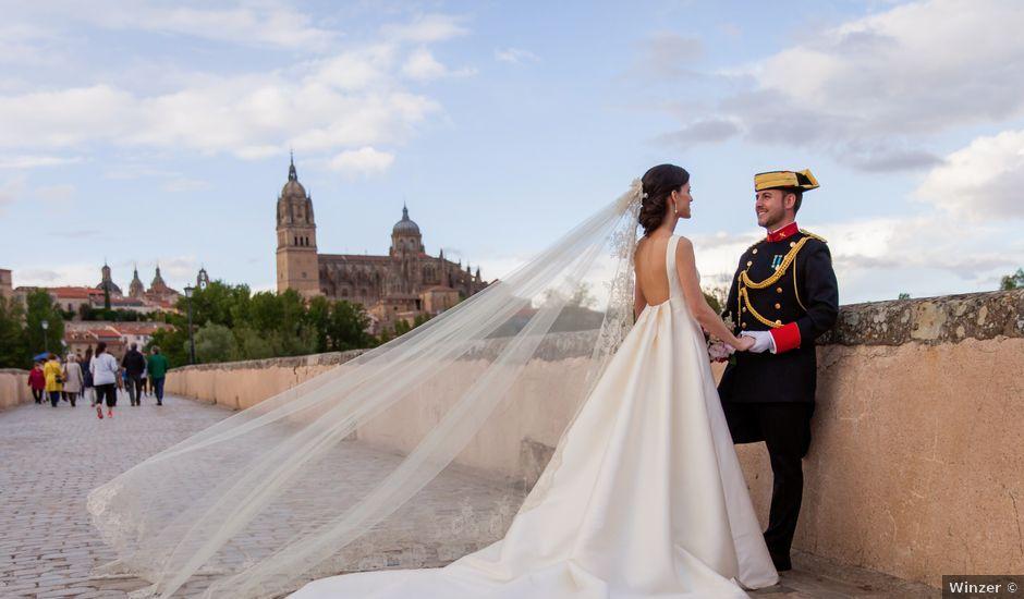 La boda de Carlos y Ana en Salamanca, Salamanca