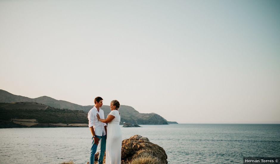 La boda de Simon y Oriane en Llança, Girona